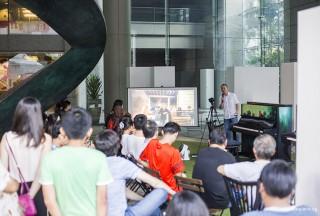 Pianovers Meetup #48, Yong Meng sharing what is Pianovers Meetup