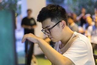 Pianovers Meetup #48, Zhi Yuan performing