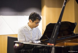 Pianovers Meetup #49 (Suntec), Theng Beng performing
