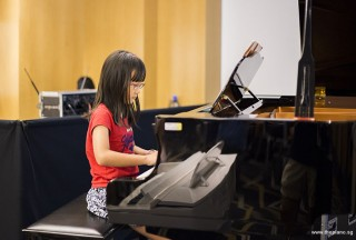 Pianovers Meetup #49 (Suntec), Grace performing