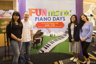 Pianovers Meetup #49 (Suntec), Patricia, Yong Meng, Nadrah, and Mai