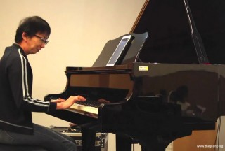 Pianovers Meetup #49 (Suntec), Siew Tin performing