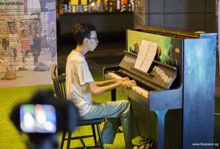 Pianovers Meetup #50, Wen Jun performing