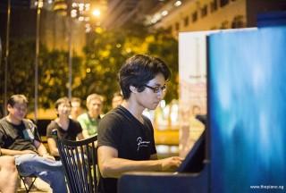 Pianovers Meetup #50, Aisham performing