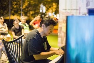Pianovers Meetup #50, Gee Yong performing