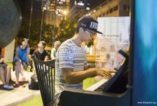 Pianovers Meetup #50, Wen Kai performing