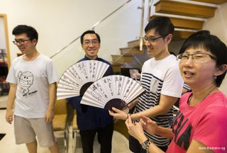 Pianovers Meetup #51 (Mooncake Themed), Zhi Yuan, Chris, Gerald, and Siew Tin