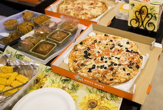 Pianovers Meetup #51 (Mooncake Themed), Pizzas