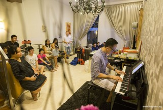 Pianovers Meetup #51 (Mooncake Themed), Teik Lee performing for us