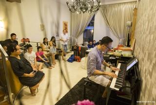 Pianovers Meetup #51 (Mooncake Themed), Teik Lee performing for us