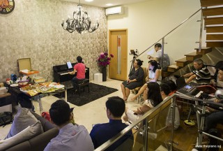Pianovers Meetup #51 (Mooncake Themed), Siew Tin performing