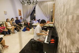 Pianovers Meetup #51 (Mooncake Themed), Zhi Yuan performing