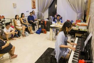 Pianovers Meetup #51 (Mooncake Themed), Gladdana performing