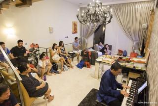 Pianovers Meetup #51 (Mooncake Themed), Chris performing