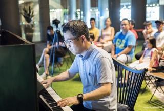 Pianovers Meetup #52, Isao performing