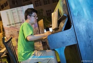 Pianovers Meetup #52, Zhi Yuan performing
