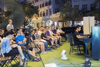 Pianovers Meetup #54, Aisham performing