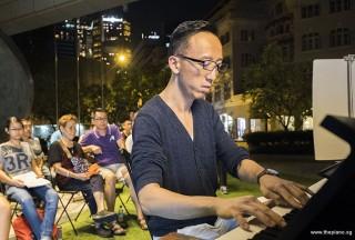 Pianovers Meetup #54, Teik Lee performing