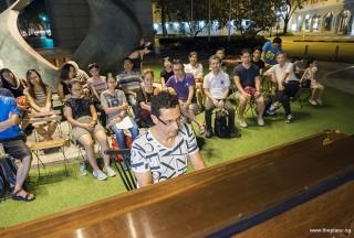 Pianovers Meetup #54, David performing