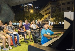 Pianovers Meetup #54, Brandon performing