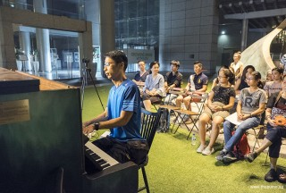Pianovers Meetup #54, Theng Beng performing for us