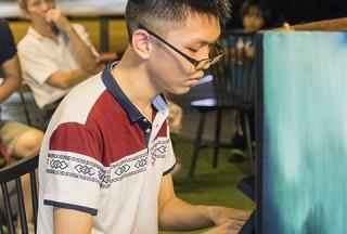 Pianovers Meetup #54, Zhong En performing