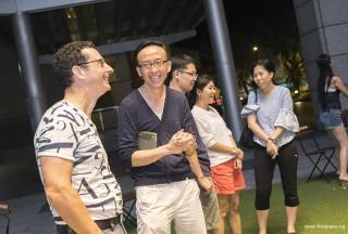 Pianovers Meetup #54, David, and Teik Lee