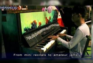 Media, Channel 5, 12 Sep 2016, 9pm News, Joshua performing