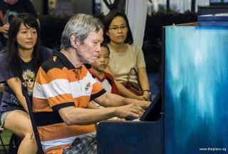 Pianovers Meetup #55, Albert performing