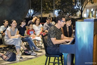 Pianovers Meetup #56, David performing for us