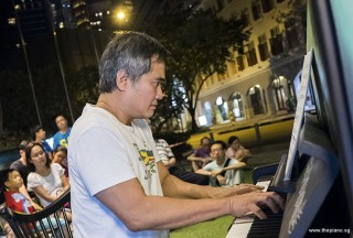 Pianovers Meetup #56, Chong Kee performing