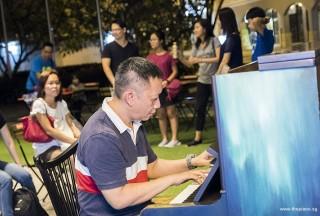 Pianovers Meetup #56, Gavin Koh playing