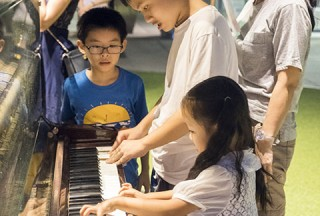 Pianovers Meetup #57, Sean playing
