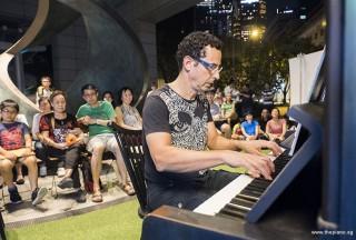 Pianovers Meetup #57, David performing