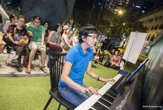 Pianovers Meetup #57, Siew Tin performing