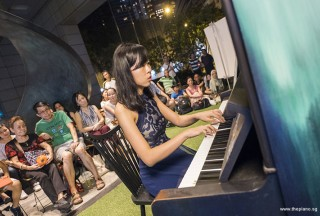 Pianovers Meetup #57, Liwen performing for us