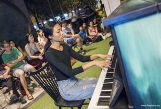 Pianovers Meetup #57, Esther Wong performing