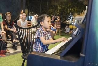 Pianovers Meetup #57, Jovan performing