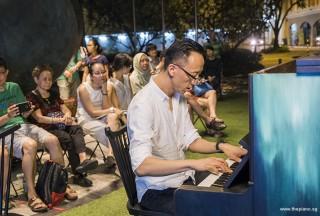 Pianovers Meetup #57, Teik Lee performing
