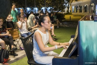 Pianovers Meetup #57, Grace Wong performing