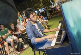 Pianovers Meetup #57, Tom Sung performing