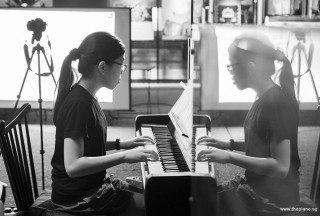 Pianovers Meetup #58, Xing performing for us