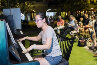 Pianovers Meetup #58, Grace Wong performing
