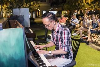 Pianovers Meetup #58, Teik Lee performing