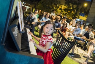 Pianovers Meetup #59, Gwen performing for us