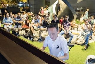 Pianovers Meetup #59, Teik Lee performing