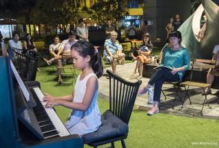 Pianovers Meetup #59, Yap Huan Ching performing