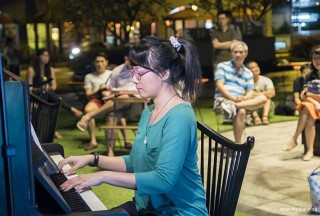 Pianovers Meetup #59, Claire Woo performing