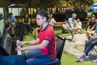 Pianovers Meetup #59, Chia Ming Hao performing
