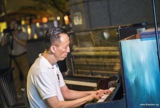 Pianovers Meetup #60, Teik Lee performing